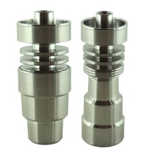 14mm 18mm 19mm Male or Female G2 Titanium Universal Domeless Nail