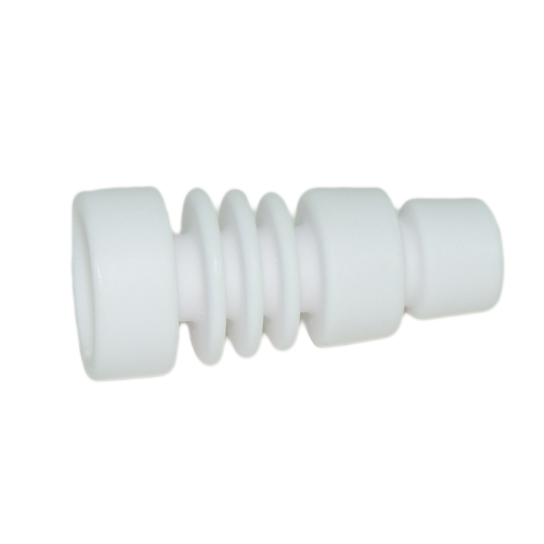 Ceramic Domeless Nail Fits 14mm 18mm Titanium Therapy