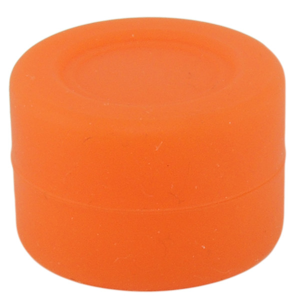 Silicone Container Containers Silicone Jars Tiny 3ml Orange