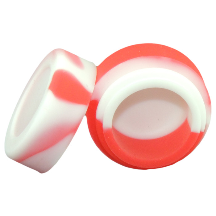 3ml Silicone Container Nonstick Tiny Silicone Jar Multiple